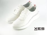 XES 極輕綁帶休閒鞋 男款 白色