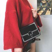 側背包女潮時尚鍊條小方包百搭側背斜背包 法布蕾輕時尚