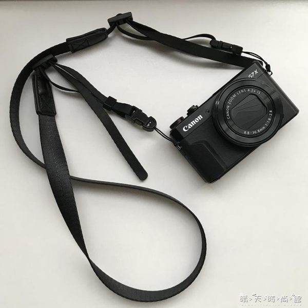 Sozor相機肩帶微單M50M100理光GR2掛繩索尼RX100M6M5窄款柔軟背帶 晴天時尚館