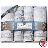 【日本製】【PRIMA CLASSE】 日本製 今治毛巾 浴巾 擦面巾 擦手巾 贈答禮品 六件組 SD-4051 - 日本製
