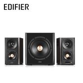 EDIFIER 漫步者 S360DB 2.1聲道 5.8G無線音頻傳輸 純木箱體 三件式 藍牙喇叭