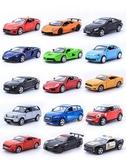 玩具回力車 1:36兒童合金汽車模男孩小汽車模型越野車跑車仿真回力開門玩具車【免運】