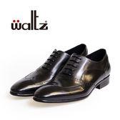 Waltz-簡約沖孔牛津鞋212171-02(黑)