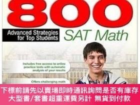 二手書博民逛書店Perfect罕見800: SAT Math: Advanced Strategies for Top Stude
