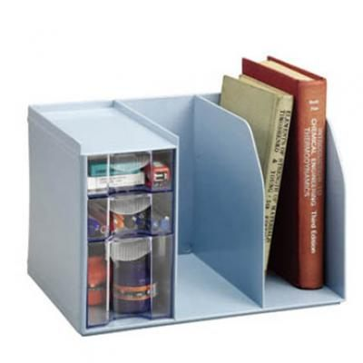 能藝 創新書架整理盒(內附文具整理盒) H-301