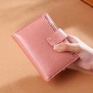 女生短夾 時尚可愛多功能零錢包 復古簡約創意學生小錢包 女士短款錢夾皮夾 三折女士短款錢包