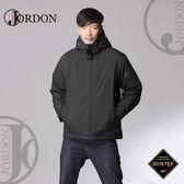 【JORDON 橋登 男  GORE-TEX 二件式羽絨外套《黑色》】1075/防水外套/羽絨