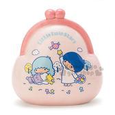 〔小禮堂〕雙子星 陶瓷造型存錢筒《粉.藍頭髮.餵小鳥.錢包》可當擺飾品 4901610-82700
