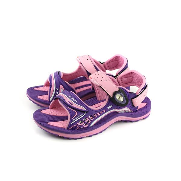 GP(Gold.Pigon) 涼鞋 防水 雨天 紫/粉 大童 童鞋 G8675B-41 no937
