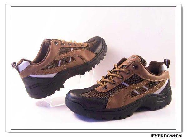 『雙惠鞋櫃』◆ 蜂巢氣墊曲線邊飾綁帶休閒運動鞋◆台灣製造 ◆  F8812 棕、咖