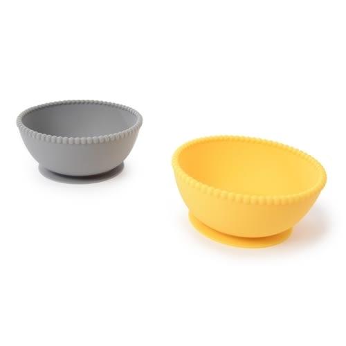 餐碗/餐具 Chewbeads 無毒矽膠餐碗2件組 - 4色