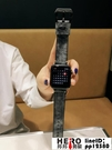 iwatch表帶復古朋克漸變色適用apple watch錶帶蘋果手表【邦邦男裝】