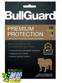 [8美國直購] 暢銷軟體 BullGuard Premium Protection 2019, 10 User [Key Code] 2019