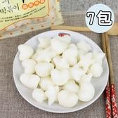 中華一番 韓國愛心星星造型年糕7包(500g/包)