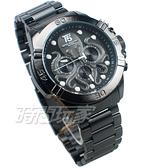 T5 sports time 深海章魚 三眼大錶徑 個性男錶 學生錶 防水手錶 日期視窗 IP黑 H3663G黑槍