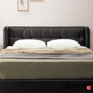 【采桔家居】吉布地 現代5尺皮革雙人床頭片(不含床底+不含床墊)