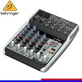 【非凡樂器】Behringer耳朵牌 XENYX Q802USB傳輸 / 8軌混音器USB傳輸 / 公司貨保固