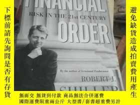 二手書博民逛書店The罕見New Financial Order: Risk i