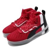 Puma 籃球鞋 Legacy MM 紅 黑 男鞋 高筒 運動鞋 【PUMP306】 19404804