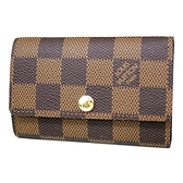 Louis Vuitton LV N62630 Damier 棋盤格紋六扣鑰匙包 全新 現貨【茱麗葉精品】