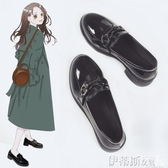 紳士鞋小皮鞋女復古秋季英倫風一腳蹬平底新款日系學院風jk單鞋 春季特賣