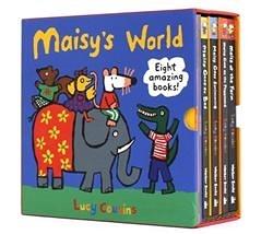 【套書禮品】 MAISY'S WORLD/內含4本操作+4本貼紙書《小鼠波波|英文童書|親子共讀》