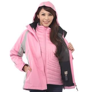 GORE-TEX+羽絨 防風防水透氣 女款 兩件式外套(內件羽絨顏色隨機)
