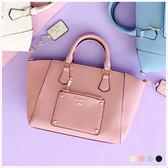手提包-skyblue自訂知性優雅手提/側背包-共4色-A03031324-天藍小舖