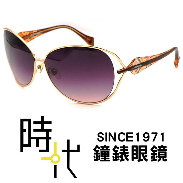 【台南 時代眼鏡 ED Hardy】墨鏡太陽眼鏡 BUTTERFLIES & ROSES GOLD 美式潮流x日本工藝