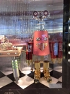■現貨在台■專櫃77折■ Prada 全新真品 1TR028 大款機器人皮革和金屬吊飾鑰匙圈