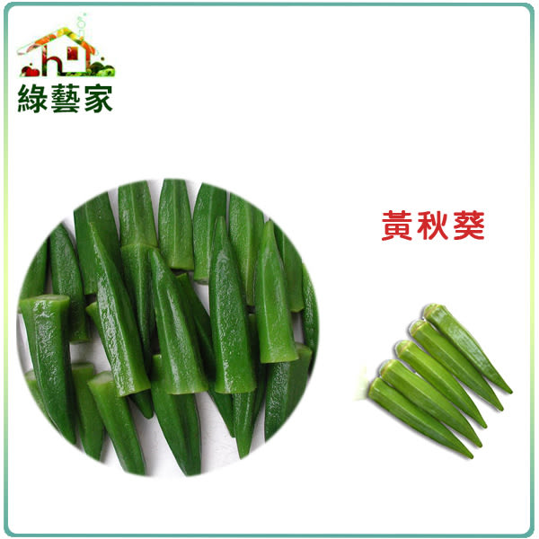 【綠藝家】G10.黃秋葵種子50顆