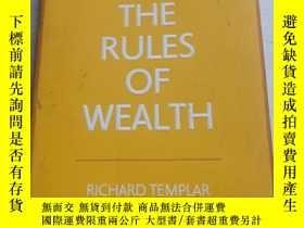 二手書博民逛書店THE罕見RULES OF WEALTHY14197 不會翻譯均以圖片為準 不會翻譯均以圖片為準