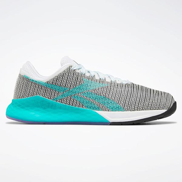 REEBOK NANO 9 WOMEN'S TRAINING 女鞋 慢跑 訓練 穩定 支撐 耐磨 透氣 灰 綠【運動世界】EG1529