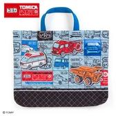 Sanrio 汽車宇宙*TOMICA日本製布面提袋/補習提袋(漫畫)★funbox★_686280