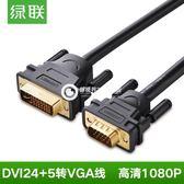 DV102 dvi轉vga線公對公24 5轉接線頭轉換電腦顯示器連接線-Fkjy4