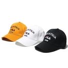 FILA 老帽 棒球帽 黑/白/黃 英文LOGO 基本款 帽子 男女 三色 (布魯克林) HTV1100-