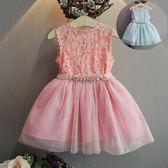 童裝夏裝 女寶寶 公主連身裙子