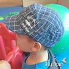 兒童帽-全棉休閒鯊魚刺繡平頂軍人帽C-905 FLY SPIN