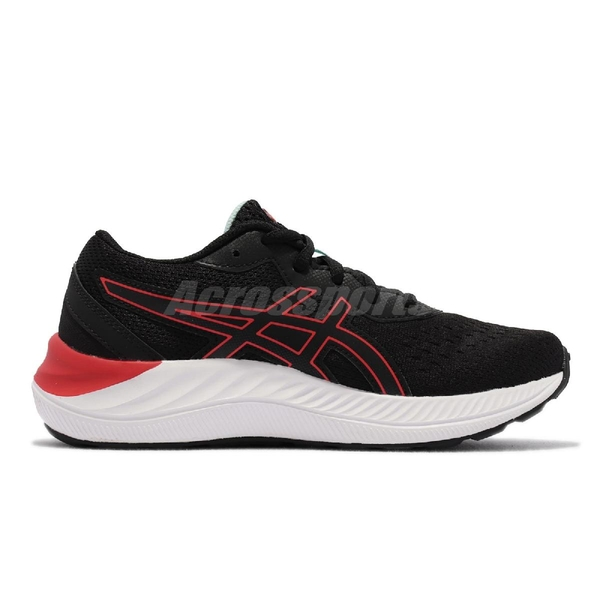 Asics 慢跑鞋 GEL-Excite 8 GS 大童 女鞋 黑 灰 運動鞋 【ACS】 1014A201009