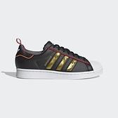 Adidas Superstar [S24184] 男女鞋 運動 休閒 慢跑 貝殼 復古 經典 情侶 穿搭 愛迪達 黑金