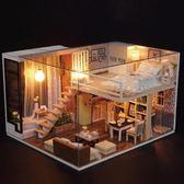 音樂盒八音盒DIY木質天空之城小女孩創意生日禮物手工送女生女友 qf1299【夢幻家居】