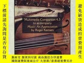 二手書博民逛書店Multimedia罕見Companion 4.5 To Accompany MusicY255562 Kam