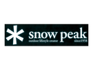 [好也戶外]snow peak 汽車貼紙-小 No.NV-006