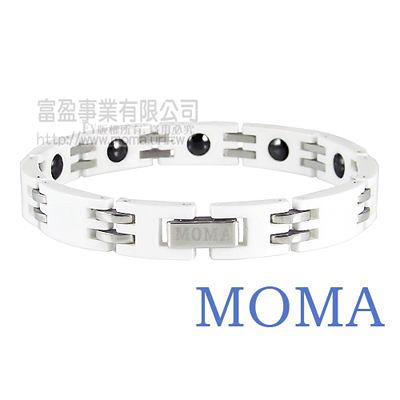 【MOMA】陶瓷鍺磁手鍊寬版-M67M-最佳情人禮