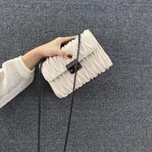 ins今年流行的小方包包2020新款潮時尚百搭單肩斜挎洋氣網紅女包-米蘭街頭