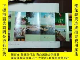 二手書博民逛書店70-80罕見武漢旅遊地圖一副Y353841