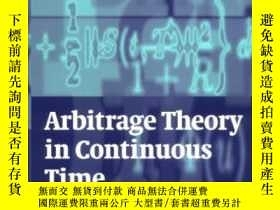 二手書博民逛書店Arbitage罕見Theory In Continuous TimeY364682 Tomas Bjork