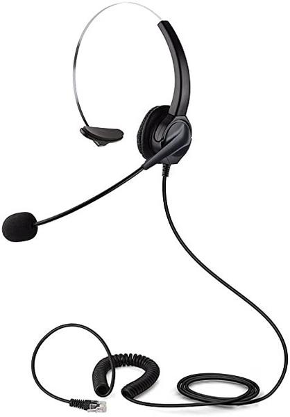 RJ11水晶頭耳機 電話免持聽筒耳機 辦公室耳機麥克風 東訊 瑞通 國際牌 安立達 聯盟 國洋