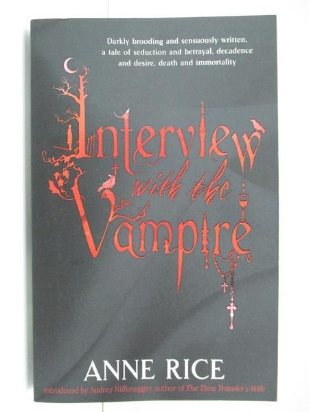【書寶二手書T8/原文小說_AYP】INTERVIEW WITH THE VAMPIRE B_Anne Rice