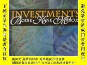二手書博民逛書店Investments罕見+ S&p Card + Powerw